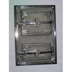 Drzwiczki hermetyczne niklowane
