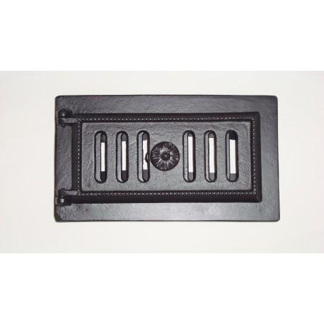 Drzwiczki popielnika czarne